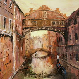 Jean Walker - The Bridge of Sighs Venice Italy