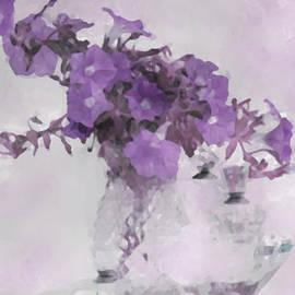 Sandra Foster - The Broken Branch - Digital Watercolor