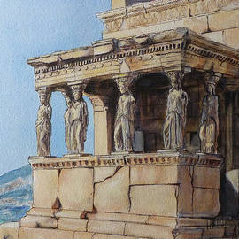 Henrieta Maneva - The Caryatid Porch of the Erechtheion