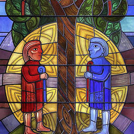 Gilroy Stained Glass - The Celtic window