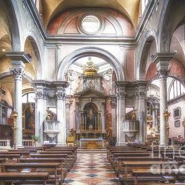 Traven Milovich - The church of San Canciano Venice