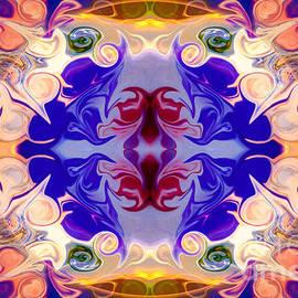 Omaste Witkowski - The Circle of Life Abstract Mandala Artwork by Omaste Witkowski