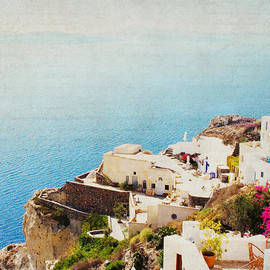 Lisa Parrish - The Cliffside - Santorini