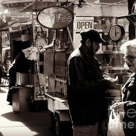 Miriam Danar - The Coffee Seller - Street Vendor
