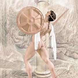 Joaquin Abella - The death of Achilles.