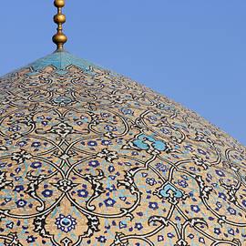 Robert Preston - The dome of the Lotfallah mosque at Isfahan in Iran