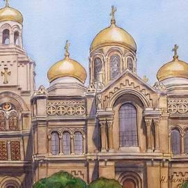 Henrieta Maneva - The Dormition of the Mother of God Cathedral  Varna Bulgaria