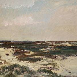 Charles Francois Daubigny - The Dunes at Camiers
