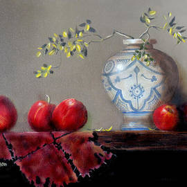 Barry Williamson - The Dutch vase and apples