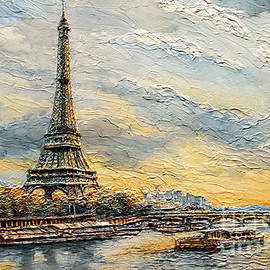 Joey Agbayani - The Eiffel Tower- from the River Seine