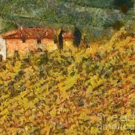 Dragica  Micki Fortuna - The Evening Before Grape Harvest
