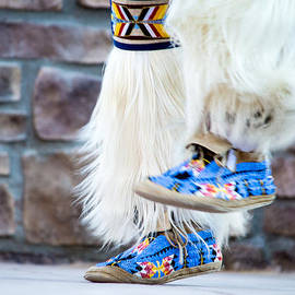 Carolina Liechtenstein - The Feet of a Native American Hoop Healer 1