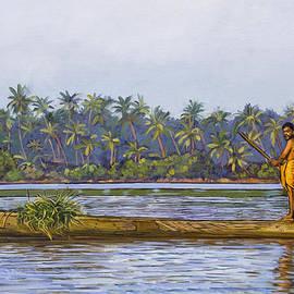 Dominique Amendola - The Fisherman And His Boat
