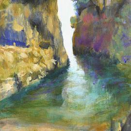 David Zimmerman - The Fjord at  Amalfi
