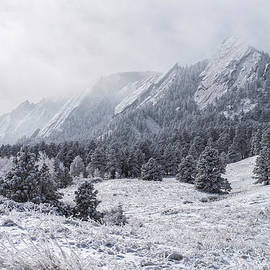 Aaron Spong - The Flatirons - Winter