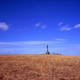 The Flodden Monument commemorating The Battle of Flodden Field 1513 near the village of Branxton Nor