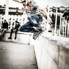 Stwayne Keubrick - The fool roller skater