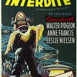 Bob Christopher - The Forbidden Planet Vintage Movie Poster