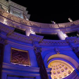 Georgia Mizuleva - The Forum Shops Glamorous Entrance at Night