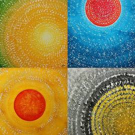 Sol Luckman - The Four Seasons collage