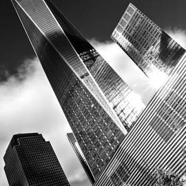 James Aiken - The Freedom Tower Flies - Black and White
