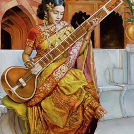 Dominique Amendola - The girl with the sitar