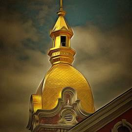 L Wright - The Gold Dome of Kansas City