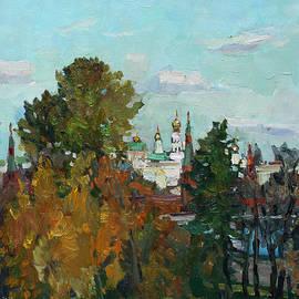 Juliya Zhukova - The golden autumn in Moscow