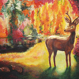 Helene Fallstrom - The golden deer
