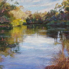 Lynda Robinson - The Goulburn at McLarty