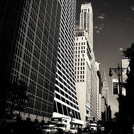 Vivienne Gucwa - The Grace Building and the Chrysler Building - New York City