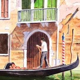 Bill Holkham - The Green Shutters - Venice