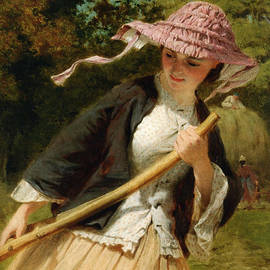 George Elgar Hicks - The Haymaker