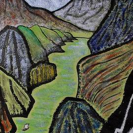 Taikan Nishimoto - The Hope Gorge By Taikan Nishimoto