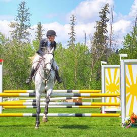 Carol Cottrell - The Horse Jumper