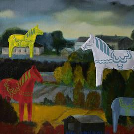 Jukka Nopsanen - The Horses of the Village