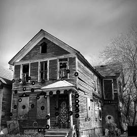 Gordon Dean II - The House of Soul At The Heidelberg Project - Detroit Michigan - BW