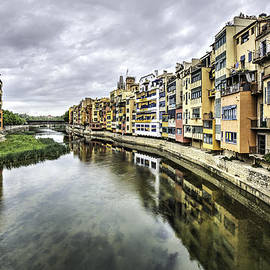 Marc Garrido - The Houses on the River Onyar in Catalonia