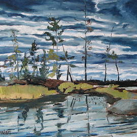 Francois Fournier - The Island At Barbue Lake Frontenac National Park Quebec Canada