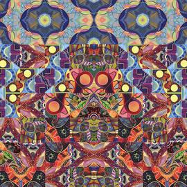 Helena Tiainen - The Joy of Design Mandala Series Puzzle 1 Arrangement 6