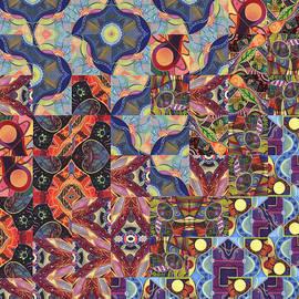 Helena Tiainen - The Joy of Design Mandala Series Puzzle 1 Arrangement 8