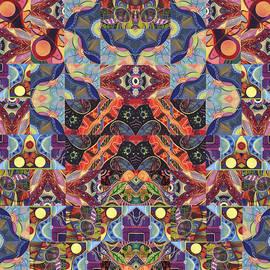 Helena Tiainen - The Joy of Design Mandala Series Puzzle 1 Arrangement 9