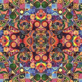 Helena Tiainen - The Joy of Design Mandala Series Puzzle 2 Arrangement 7