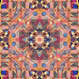 Helena Tiainen - The Joy of Design Mandala Series Puzzle 4 Arrangement 1