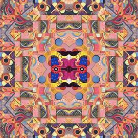 Helena Tiainen - The Joy of Design Mandala Series Puzzle 4 Arrangement 2