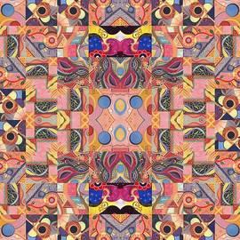 Helena Tiainen - The Joy of Design Mandala Series Puzzle 4 Arrangement 3