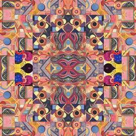 Helena Tiainen - The Joy of Design Mandala Series Puzzle 4 Arrangement 5