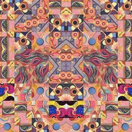 Helena Tiainen - The Joy of Design Mandala Series Puzzle 4 Arrangement 6