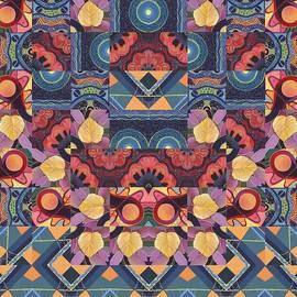 Helena Tiainen - The Joy Of Design Mandala Series Puzzle 5 Arrangement 1