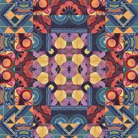 Helena Tiainen - The Joy of Design Mandala Series Puzzle 5 Arrangement 2